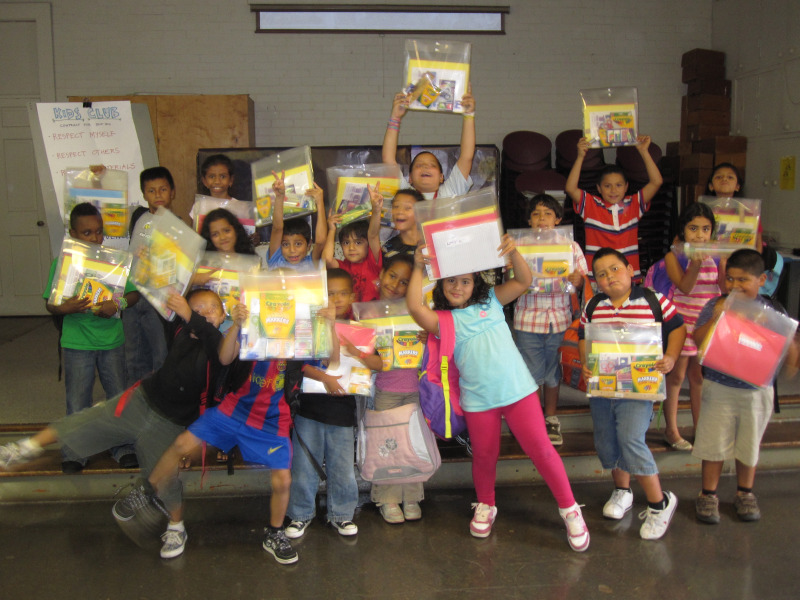 School Supplies Provided by St. Peter's Episcopal of Purcellville