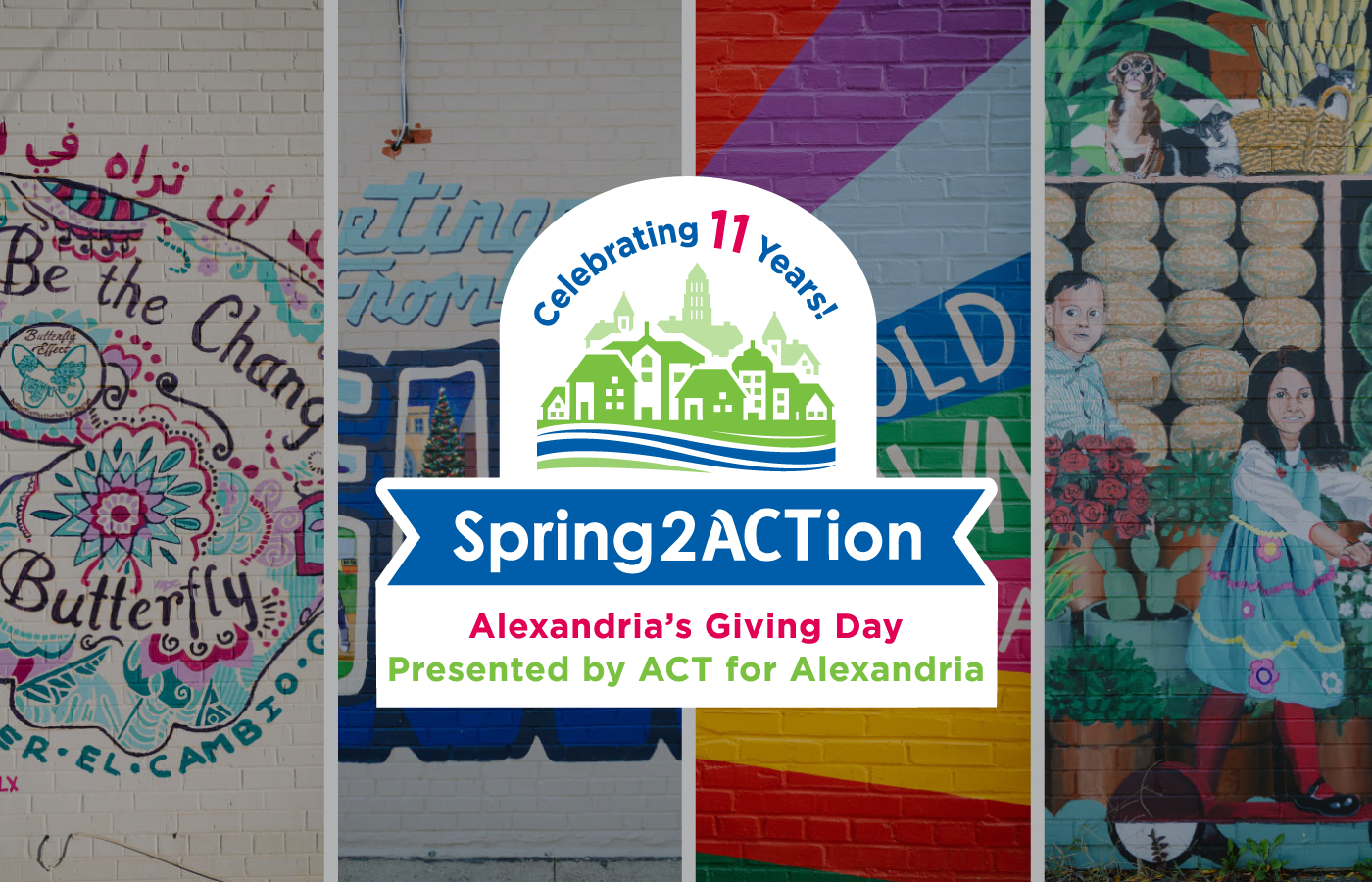 Spring2ACTion. Alexandria's Giving Day